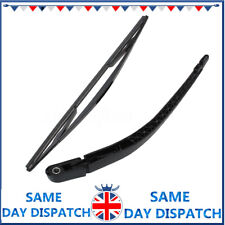 FOR VAUXHALL ZAFIRA A CAR REAR BACK WINDOW WINDSCREEN WIPER BLADE & ARM SET ^