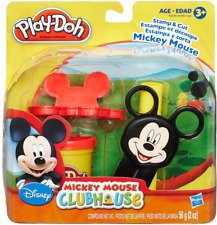 Play-Doh Mickey Mouse Clubhouse Set Disney Play Set w/ Tools Stamp Roller Clay
