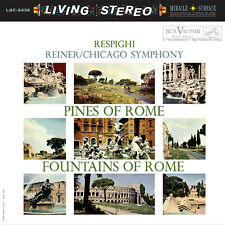 RESPIGHI - ANALOGUE PRODUCTIONS AAPC-2436  - PINES/FOUNTAINS OF ROME 200g