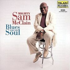Blues for the Soul by Mighty Sam McClain (CD, Apr-2001, Telarc Distribution)