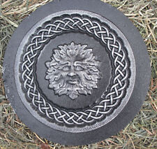 Green man abs plastic mold plaster concrete casting mould