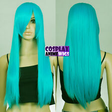 70cm Miku Green Heat Styleable Long Cosplay Wigs 76_MGG