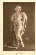 CARTE POSTALE ILLUSTRATEUR PHOTO SABOURIN PARIS NU FANTAISIE FEMME - DHERLYS