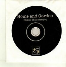 (DE161) Home And Garden, History And Geography - DJ CD