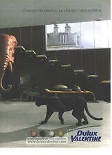 PUBLICITE ADVERTISING 2007  VALENTINE la peinture DULUX