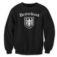 Deutchland German  Eagle  Germany  Pride  Dfb Black Crewneck Sweatshirt