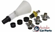 Coolant Refilling Funnel 8Pc. Set T&E Tools 12279 NEW SPECIAL suits most Models