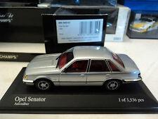 Minichamps 1/43 Opel Senator 1980 astrosilber