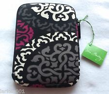 NWT Vera Bradley Neoprene Medium Tablet Sleeve Canterberry Magenta E-reaer case