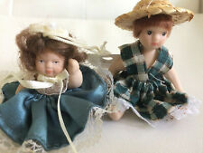 Two Cameo Kids Collection Porcelain Dolls