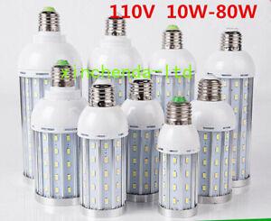 E27 5730 Base Socket Screw LED Corn Light Lamp Bulb Outdoor Home 110V 10W - 80W