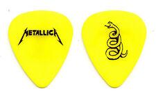 Metallica Yellow Snake Guitar Pick #1 - 2012 Dunlop Reissue