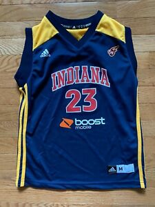Indiana Fever Katie Douglas #23 Adidas Replica Road Jersey Size M Youth Girls