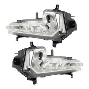 LED 1Paar Nebelscheinwerfer Fahrleuchte DRL für Chevrolet Malibu XL 2016-18 Hot