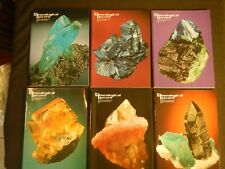 Mineralogical Record Magazine Vol 30 1999 All 6 Issues Complete Minerals Crystal
