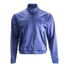 Porsche Design light nylon chaqueta señores medial Blue negro Gr. 52 l nuevo