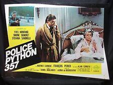 FOTOBUSTA CINEMA - POLICE PYTHON 357 - YVES MONTAND - 1975 - POLIZIESCO - 06