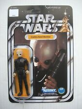Vintage STAR WARS CANTINA BAND MEMBER CUSTOM on New Hope Style Card