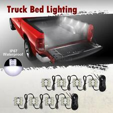 8PC White LED Truck Bed/Rear Work Box Lighting Kit Trunk Light for All Pickup