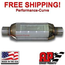 "2.25"" AP Exhaust Heavy Load Catalytic Converter O2 True OBDII - 608215"