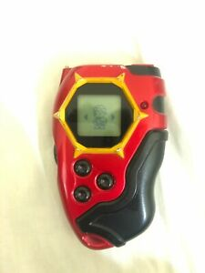 Digimon digivice d tector red