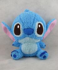 "New Lilo Stitch Sitting Exclusive Blue 8"" Soft Plush Stuffed Toy Doll"