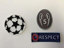 UEFA Champions League patch kit- FC Barcelona, Bayern Munich - Liverpool - OFF