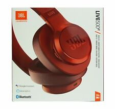 JBL  LIVE 500BT Wireless Over-The-Ear Headphones w/ Google Red *LIVE500BTRED