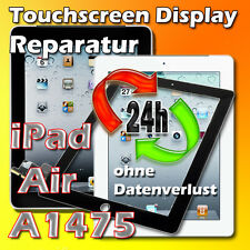 24 St. iPad Air Modell A1474 A1475 A1476 Display Glas Scheibe Reparatur Schwarz