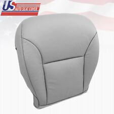 2004 Lexus ES300 ES330 Replacement Leather Seat Cover Gray -Front Driver Bottom