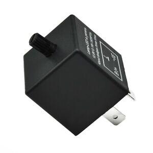 3-Pin Electronic Signal Car Flasher Relay Unit For LED Blinker Indicator 12V