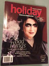 Martha Stewart Holiday Magazine 2007, Halloween Special Issue