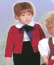 """Boneka graublaue kordhose 60 cm poupées//Corduroy Pants Greyblue 23/"""" Dolls"""