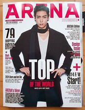 BigBang TOP T.O.P/CUTTING 13p.--Magazine Clippings/Arena Korea September 2014