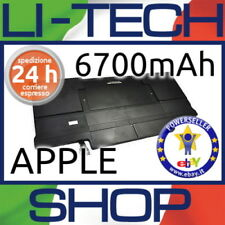 Batteria compatibile 6700mAh per APPLE MAC BOOK AIR 5.2 13.3 POLLICI 2012 A1466