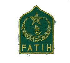 Bosnian War Muslim forces sleeve patch