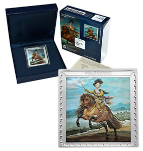 SPAIN 10 Euro 2019 Silver 1oz Museo del Prado Velázquez 'Prince Baltasar Carlos'