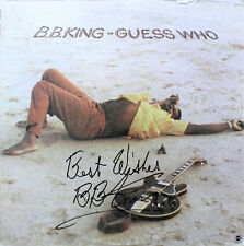 B.B. King (BB)  Signed Autographed GUESS WHO Vinyl Record