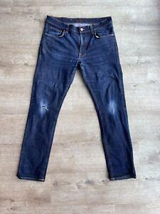 Nudie Jeans Lean Dean Dry 16 Dips 36w 32L