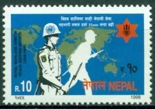 Nepal Scott #636 MNH Peacekeeping Royal Army Map $$