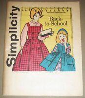 Simplicity Back to School September, 1961 By Advance Pattern Co