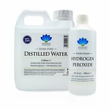 6% Food Grade Hydrogen Peroxide & Distilled Water Kit