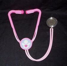 VINTAGE 1997 FISHER PRICE DOCTOR NURSE PINK STETHOSCOPE HEART MEDICAL TOY