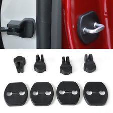4*Car Door Striker+Door Check Arm Rustproof Cover For Nissan Tiida X-Trail 2006+