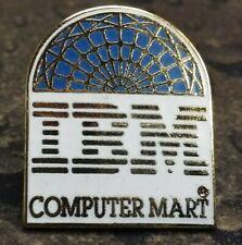 IBM Computer Mart pin badge