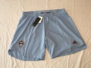 Colorado Rapids Authentic Shorts Adidas 2020/21 AEROREADY Men's 2XL Soccer $60