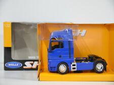 Welly MAN TGX 18.440 blau 1:32 Super Haulier  32650S-W in OVP