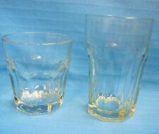 2 Sizes Libby Duratuff Heavyweight Clear Glasses Tumbler Juice Highball Glass