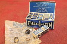 VINTAGE 10 CHAMPION V SPARK PLUGS MODEL AIRPLANE TETHER CAR ENGINE NEW IN BOX