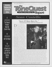 The ToneQuest Report- magazine, Oct 2000, Vol 1 No 12, cover Sean Costello